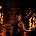 Anki Feistner - Feuershow
