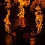 Christian Unger - Feuershow
