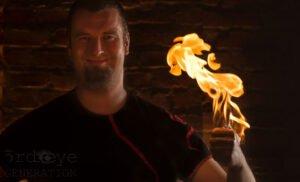 René Feuerer - Feuershow Feuerkünstler Feuerspucker Feuerschlucker Hochzeitsfeuershow buchen