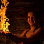 Tabea Sebastian - Feuershow