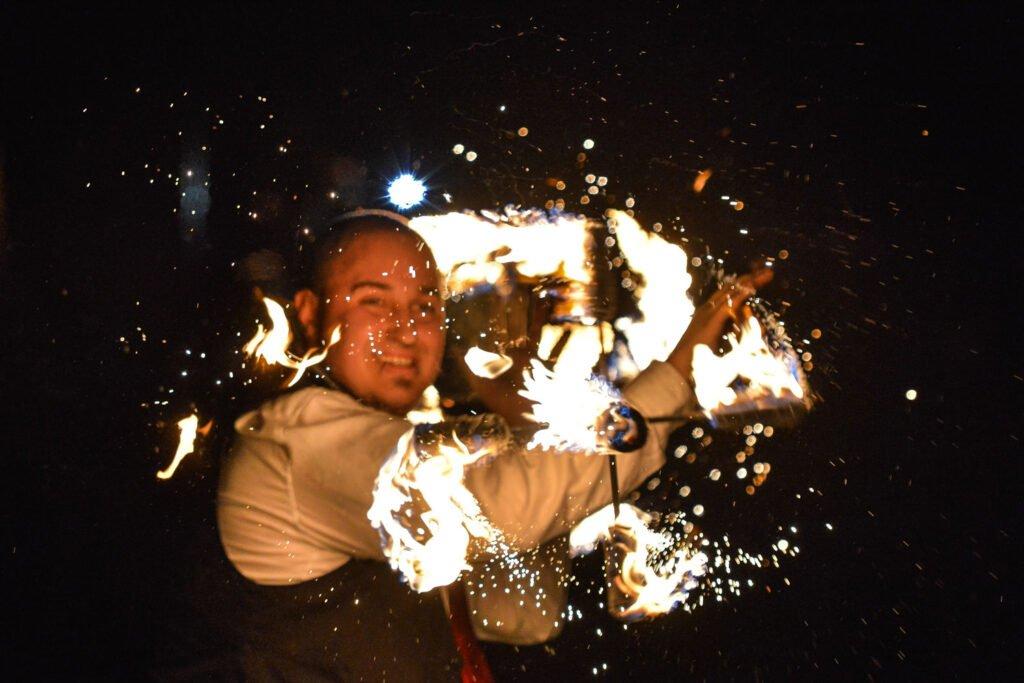 Feuershow - Dragon Staff