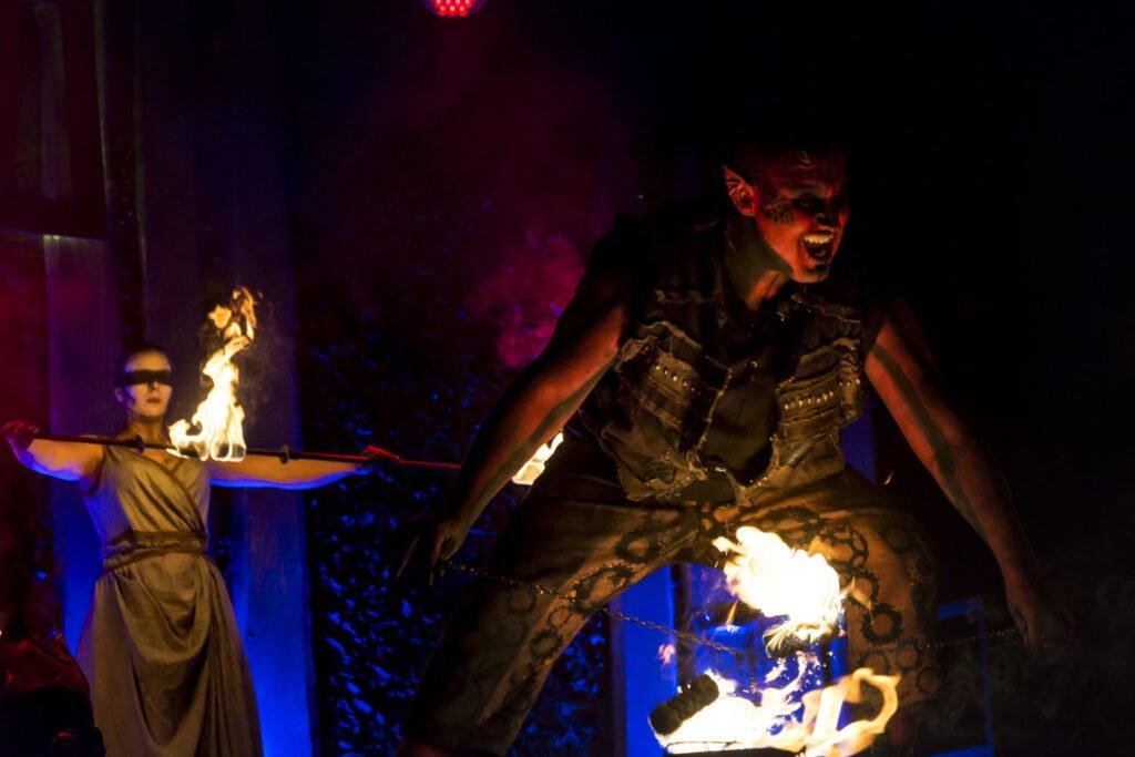 Fantasy-Feuershow