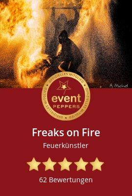 Fire show fire artist fire eaters