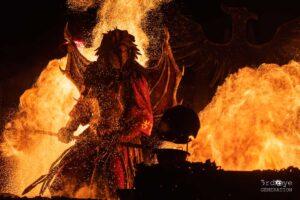 Feuervogel aus der Hölle